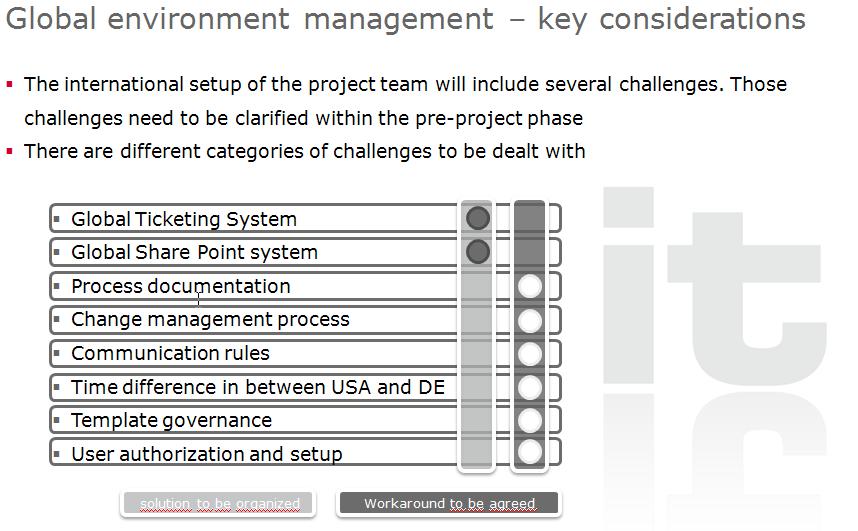 Welche sonstigen Herausforderungen wird es in einem Realisierungsprojekt geben?